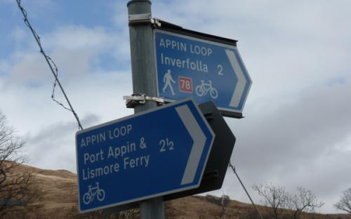 Take the Port Appin Route