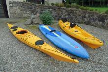 Kayaking at Action Glen Glencoe
