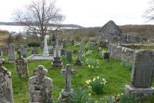 St Maelrubrha's chapel and graveyard