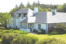 Glenancross Farmhouse - garden view