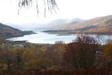 Great views of Loch Leven
