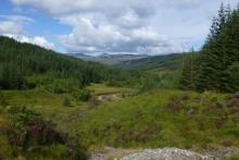 The views from Corrantee lead mine