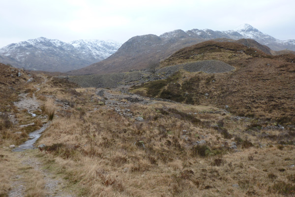 The disused leadmines above Strontian