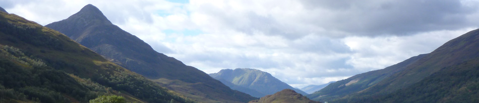 a view over the pap of Glencoe