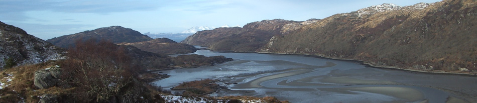 view of loch moidart from the silver walk
