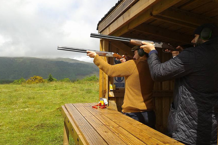 Clay Pigeon Shooting at The Ardtornish Estates