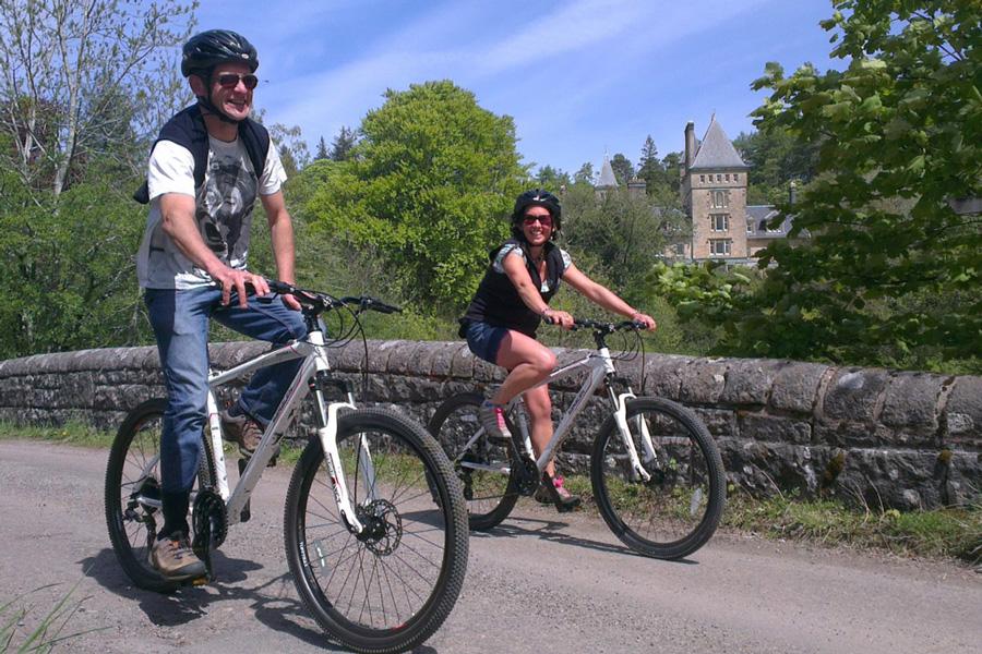 Cycling at The Ardtornish Estates
