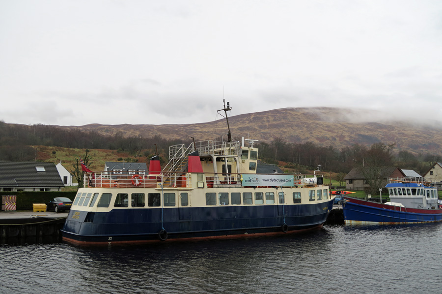 Clyde Cruises on the Caledonian Canal at Banavie