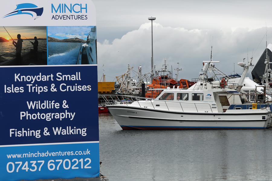 Minch Adventures in Mallaig Marina