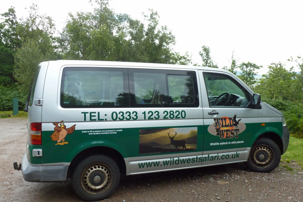 The Wild West Safari minibus