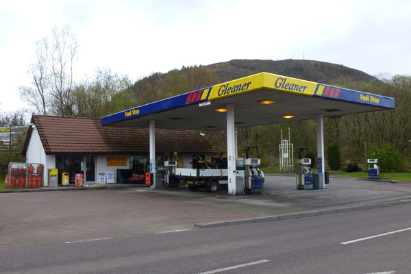 Gleaner Fuel Station Fort William