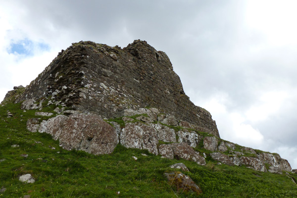 Ardtornish Castle - exterior view