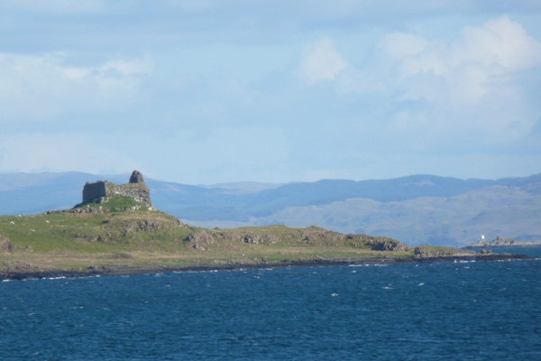 Ardtornish Castle from Lochaline