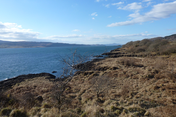 View over the Sound of Mull