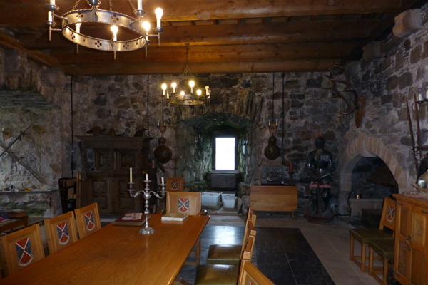 Castle Stalker - The Great Hall