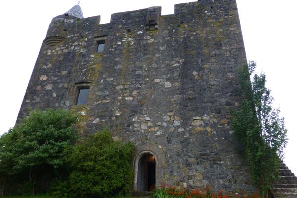 The entrances to Castle Stalker