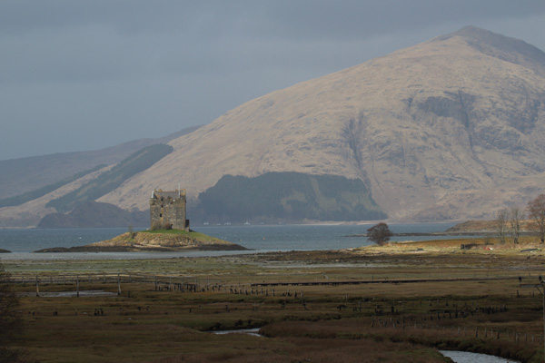 Castle Stalker - a picture postcard