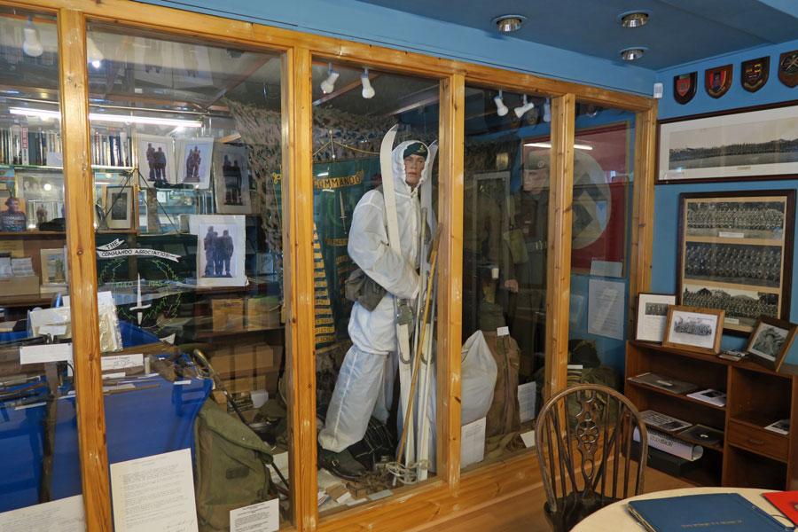 The Commando Museum in The Spean Bridge Hotel