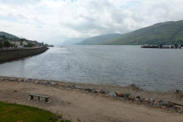 Beach front, Loch Linnhe