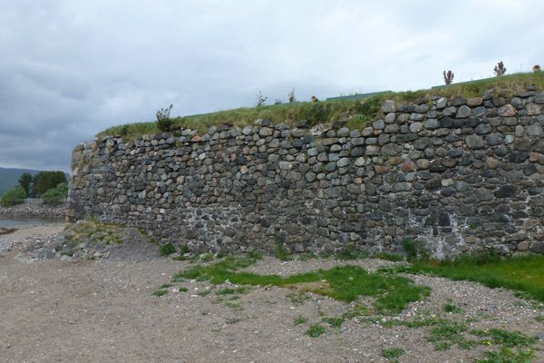 Stone walls of Fort