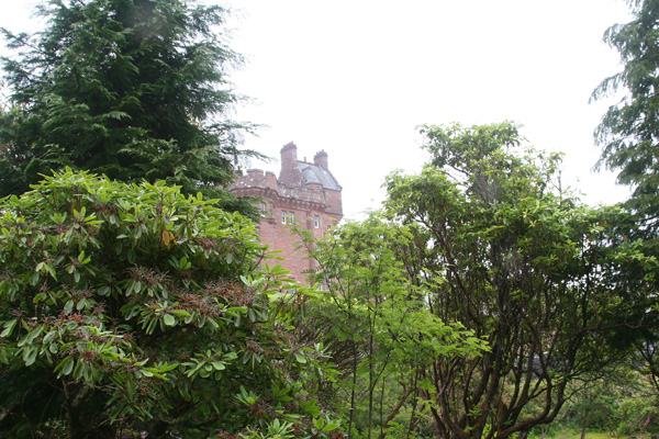 Fine views of Glenborrodale Castle throughout the gardens