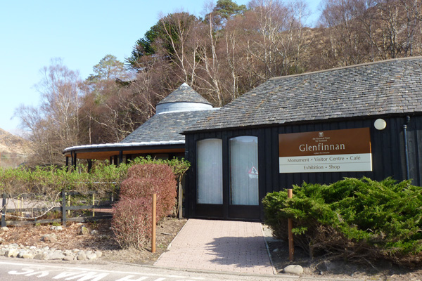 The Glenfinnan National Trust for Scotland visitor centre
