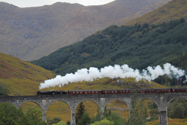 The West Highland Railway steam train