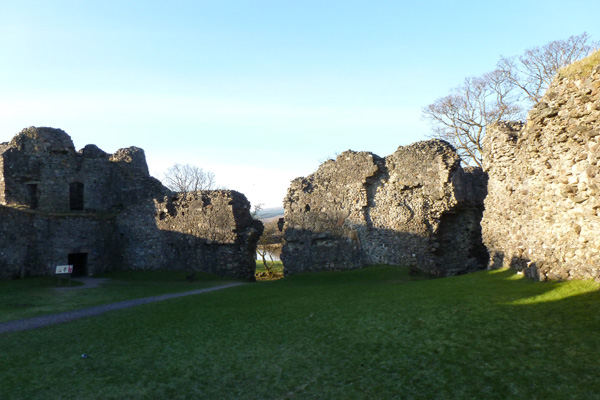 Old Inverlochy Castle- inner courtyard