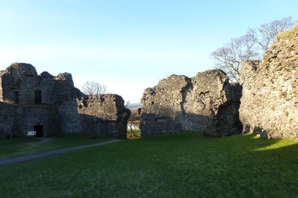 Old Inverlochy Castle- inner courtyard