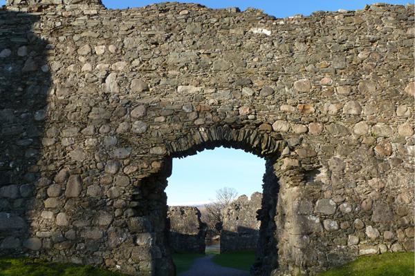 Old Inverlochy Castle- main entrance