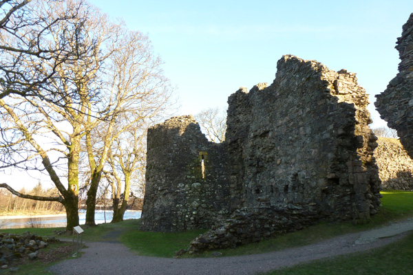 Old Inverlochy Castle- external view