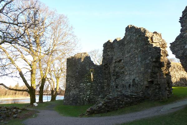 Old Inverlochy Castle- external view