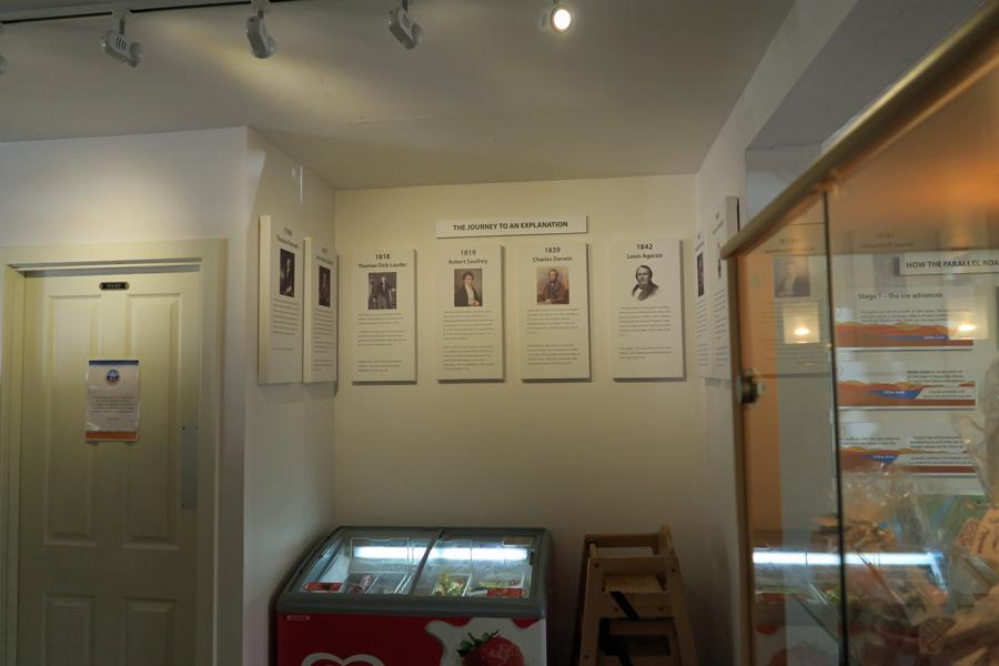 Darwin's Rest coffee shop in Roy Bridge