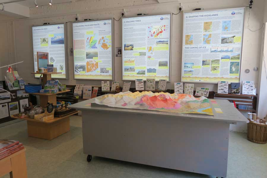 Lochaber Geopark Visitor Centre in Fort William
