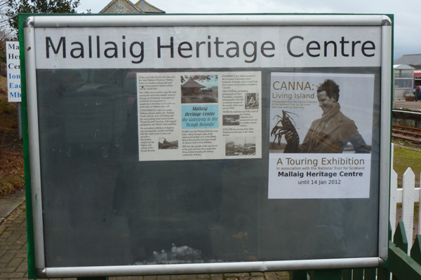 Mallaig Heritage Centre - Exhibitions