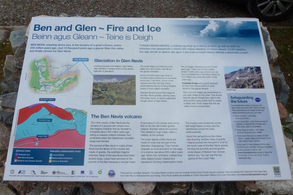 Lochaber Geopark Rock Route No 4