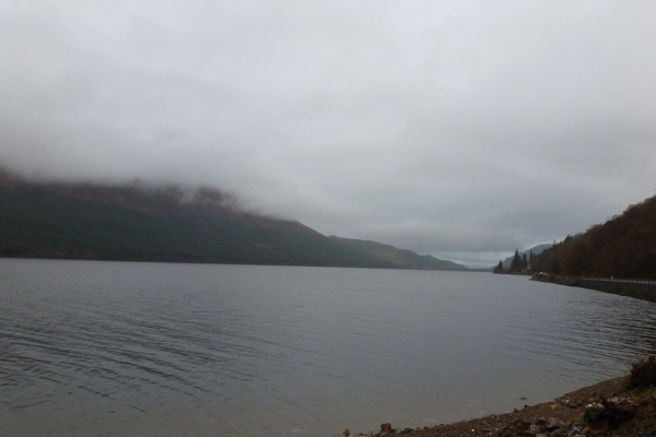 Looking North up Loch Lochy along The Great Glen Fault