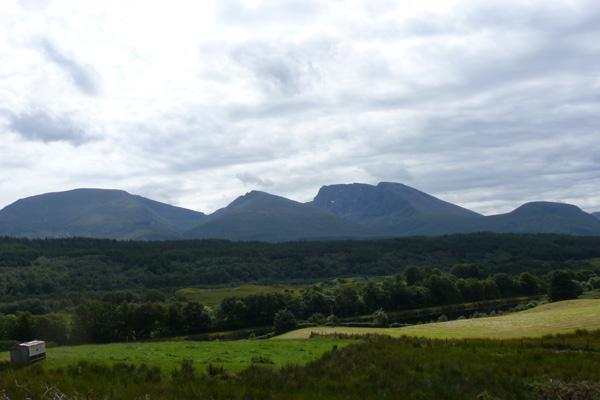 Nevis Range in Summer