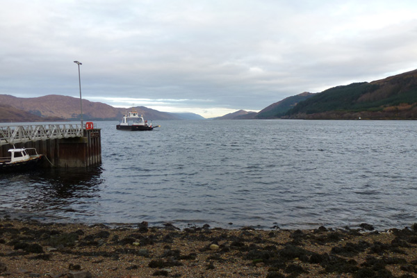 Looking North up Loch Linnhe