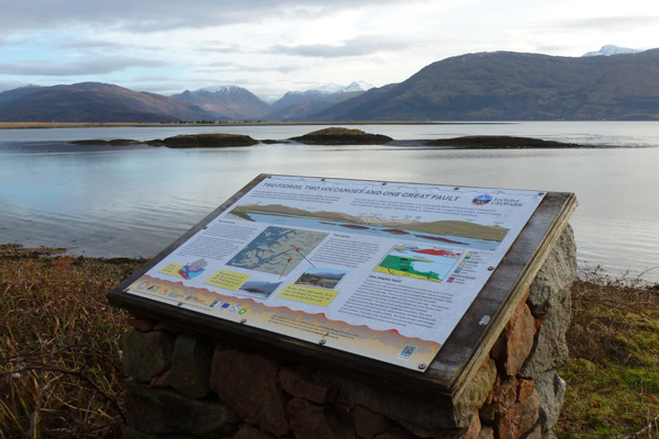 Lochaber Geopark Rock Route No 17