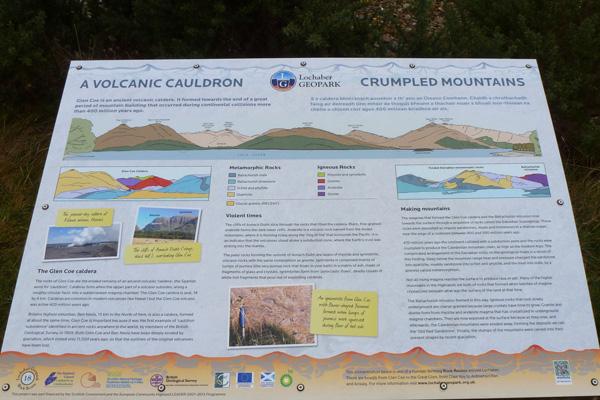 A Volcanic Cauldren - Crumpled Mountains