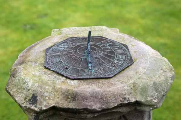 Sundial at Roshven House Gardens