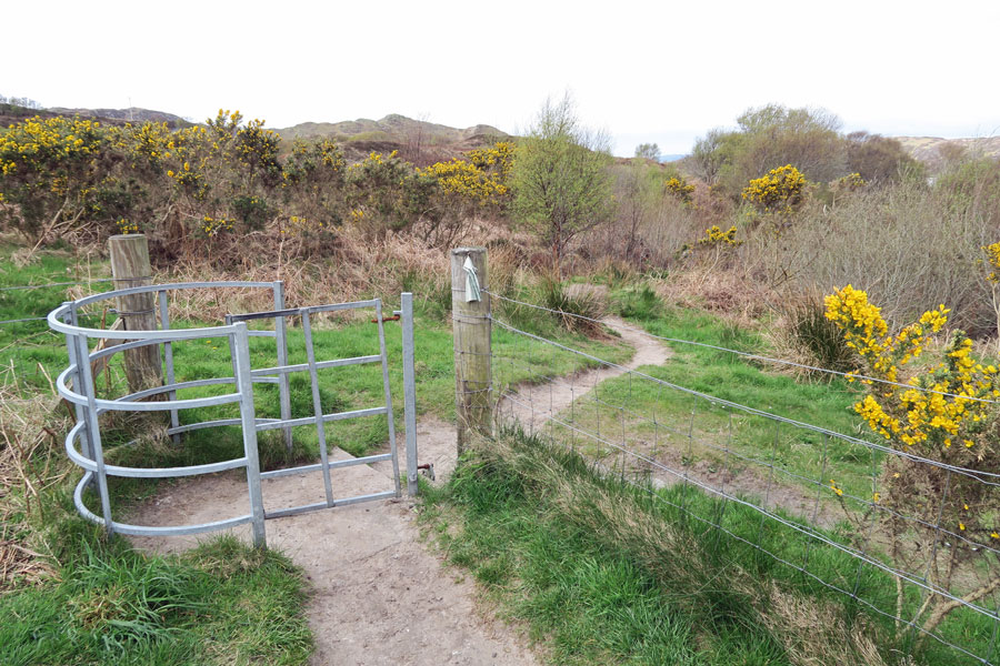 The small gateway to the dunes and beaches