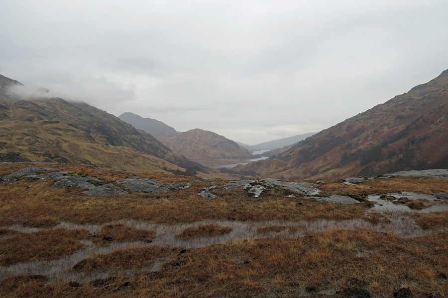 The Muidhe  - looking west over Loch Eilt