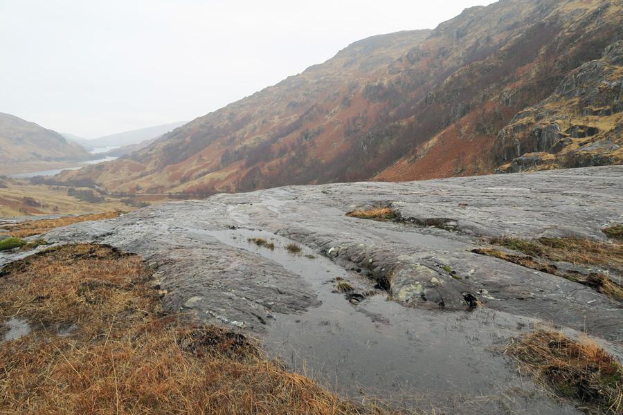 The Muidhe  - a top Geosite near Glenfinnan