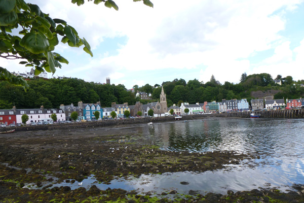 Tobermory with its sheltered habour