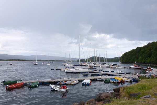 Tobermory pontoons