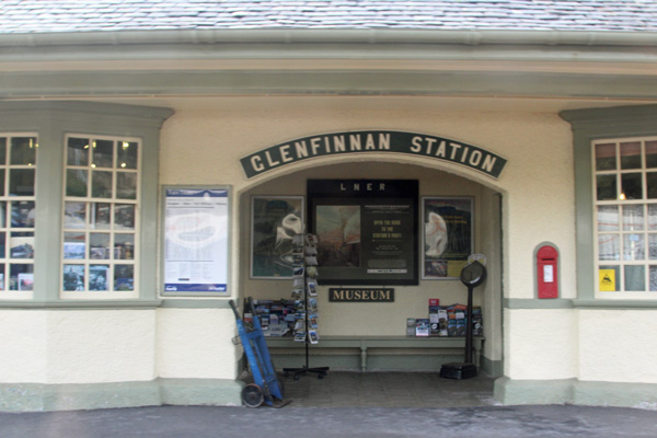 The station museum at Glenfinnan