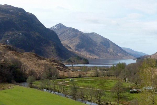 Loch Shiel and The Glenfinnan Monument