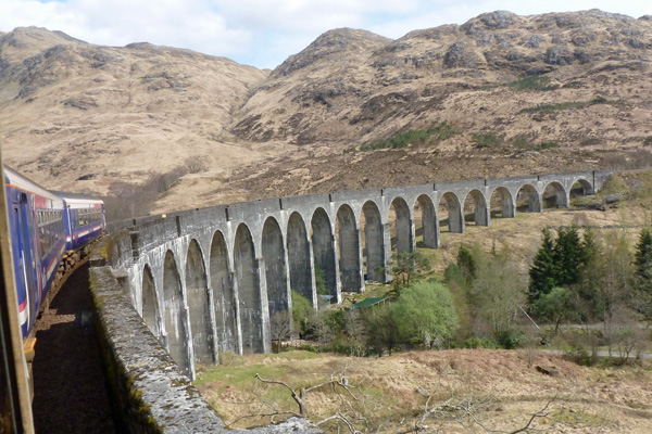 The Glenfinnan Viaduct - Hogwarts next stop?